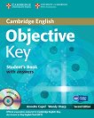 Objective - Key (A2): Учебник + CD : Учебен курс по английски език - Second Еdition - Annette Capel, Wendy Sharp -