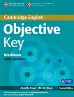 Objective - Key (A2): Учебна тетрадка + CD : Учебен курс по английски език - Second Еdition - Annette Capel, Wendy Sharp -