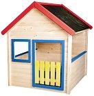 Дървена къщичка за игра - Ерик -