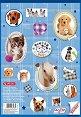 """Скицник за рисуване със стикери - Животинки - Формат A4 от серия """"Pretty Pets"""" -"""