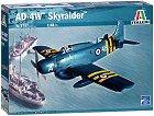 Американски самолет - AD-4W Skyraider - Сглобяем авиомодел -