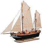 Кораб за дълбоководен риболов - Maria HF31 - Сглобяем модел на кораб от дърво -