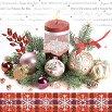 Салфетки за декупаж - Коледна украса - Пакет от 20 броя -