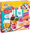 """Направи сам - Сладкиши - Творчески комплект с моделин от серията """"Crea Dough"""" -"""