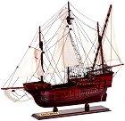 Карака - Santa Maria - Декоративен кораб от дърво -
