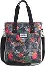 Чанта за рамо - Amber: Coral Hibiscus -