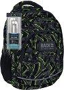 Ученическа раница - Back Up: A 31 - Комплект със слушалки -