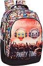 """Ученическа раница - Emoji Party Time - От серията """"Emoji"""" -"""