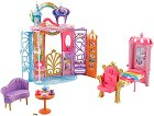"""Барби - Замък в куфарче - Комплект за игра с аксесоари от серията """"Dreamtopia"""" -"""