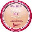 Bourjois Healthy Mix Powder Anti-Fatigue - Компактна пудра за лице с анти-умора ефект -