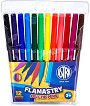 Флумастери - Комплект от 12 или 24 цвята -