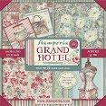 Хартии за скрапбукинг - Гранд хотел - Комплект от 22 броя с размер 30.5 х 30.5 cm -
