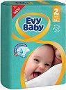 Evy Baby 2 - Mini - Пелени за еднократна употреба за бебета с тегло от 3 до 6 kg -