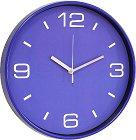 Стенен часовник Claps - Crossandra Blue -