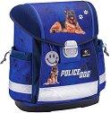 Ергономична ученическа раница - Police Dog -