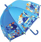 Детски чадър - Морски свят -