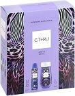 Подаръчен комплект -  C-Thru Joyful Revel - Дамски душ гел и дезодорант -