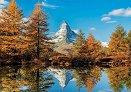Планината Матерхорн през есента -