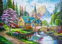 """Къща в гората - Пъзел от колекцията """"Premium Quality""""  -"""