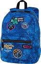 Ученическа раница - Cross: Badges G'Blue -