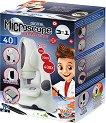 """Детски дигитален микроскоп 3 в 1 - Образователен комплект от серията """"Mini Sciences"""" -"""