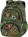Ученическа раница - Dart: Badges G'Green -