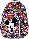 Ученическа раница  с LED светлини - Spark L: Mickey Mouse -