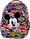Ученическа раница с LED светлини - Joy S: Mickey Mouse -