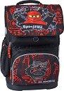 """Ученическа раница - LEGO Ninjago: Team Ninja - Комплект със спортна торба от серията """"LEGO: Ninjago"""" -"""