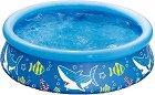 Надуваем басейн - Морско дъно - С диаметър ∅ 152 cm -