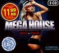 Mega House - Best of House - 3 CD -