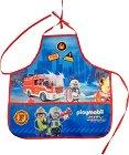 Престилка за рисуване - Playmobil: Firefighters -