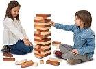 Дженга гигант - Дървена игра с височина на кулата 60 cm -
