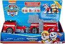 """Пожарникарският камион-мотор на Маршъл - 2 в 1 - Детски комплект за игра с фигурка на Маршъл и Ръбъл : От серията """"Пес патрул"""" -"""
