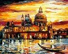 Рисуване по номера с акрилни бои - Романтични пътешествия - Комплект за картина с размери 50 x 40 cm -