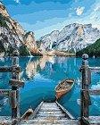 Рисуване по номера с акрилни бои - Релакс - Комплект за картина с размери 40 x 50 cm -
