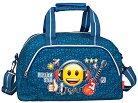 Пътнически сак - Emoji Rock Star - С размери 45 / 25 / 24 cm -