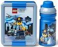 Комплект бутилка и кутия за храна - LEGO: City -