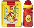 Комплект бутилка и кутия за храна - LEGO: Iconic -