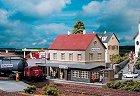 ЖП гара - Burgstein Station - Сглобяем модел -