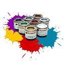 Акрилна боя - сатенен ефект - Боичка за оцветяване на модели и макети -