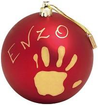 """Коледна топка - My Christmas Fairy - Комплект за създаване на отпечатъци от серията """"Timeless Classic"""" -"""