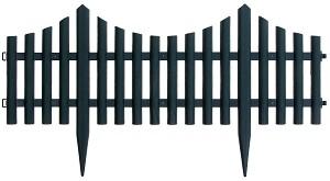 Ниска градинска ограда - Модел 1315-HD8026 - 1 или 4 модула -