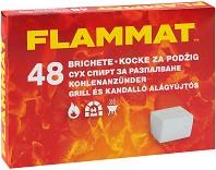 Сухи кубчета за разпалване на петролна основа -