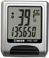 Безжичен велокомпютър - Union-Pro14W - Аксесоар за велосипед -