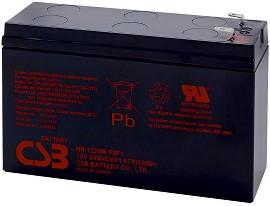 HR 1224W 12V / 6Ah - Оловно-кисела батерия за UPS устройства с размери 151 / 51 / 94 mm -