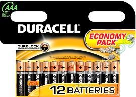 Батерия AAA - Алкална (LR03) - 2, 4, 12 броя -
