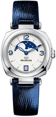 "Часовник Marvin - Malton Cushion M022.12.39.75 - От серията ""Malton Cushion"" -"