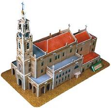 Катедралата във Фатима - 3D пъзел -