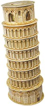 Наклонената кула в Пиза - 3D пъзел -